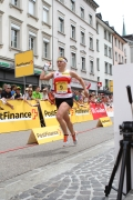 Rahel gibt Vollgas: Jede Sekunde zählte!<small>Foto: Swiss Orienteering</small>